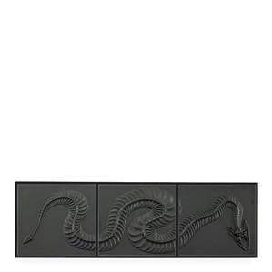 """Декоративная панель """"Змея - черный"""" 129,5см"""
