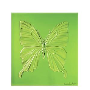 """Декоративная панель """"Бабочка - зеленый"""" 42см"""