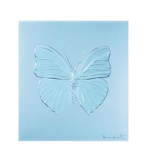 """Декоративная панель """"Бабочка - голубой"""" 42см"""
