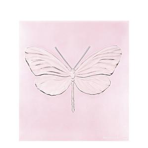 """Декоративная панель """"Стрекоза - розовый"""" 42см"""