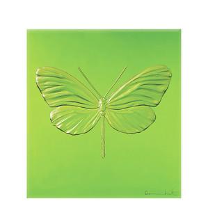 """Декоративная панель """"Стрекоза - зеленый"""" 42см"""