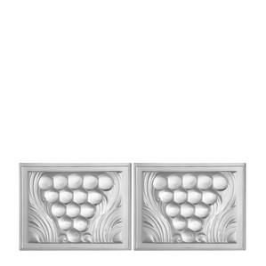 Декоративная панель зеркальная 3,6x10,3см