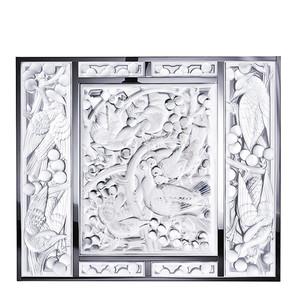 Декоративная панель зеркальная (Голова вверх) 54x63,3см