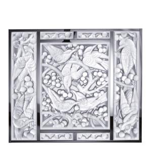 Декоративная панель зеркальная (Голова ввниз) 54x63,3см