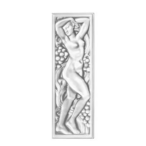 Декоративная панель зеркальная 45,8x15,2см