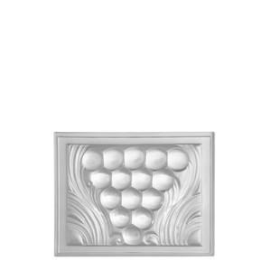 Декоративная панель зеркальная (центральная) 11,8x15,2см