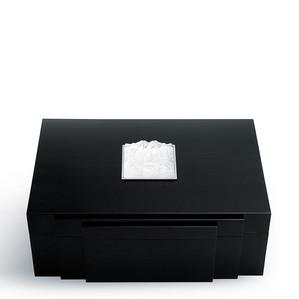"""Хьюмидор для сигар """"Черный лак"""" 36см"""