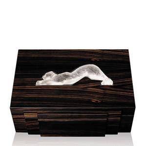"""Хьюмидор для сигар """"Эбеновое дерево"""" 36см"""