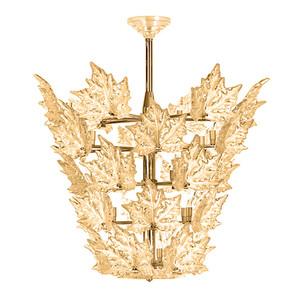 """Люстра (5 уровня) """"Золотистый хрусталь, позолоченный"""" 88x104x102см"""