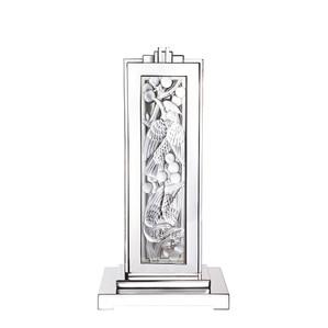 """Настольная лампа """"Полированная сталь"""" 34x23x69см"""