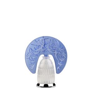 """Настольная лампа """"Сапфировый синий, Хромированный"""" 34x28x13см"""