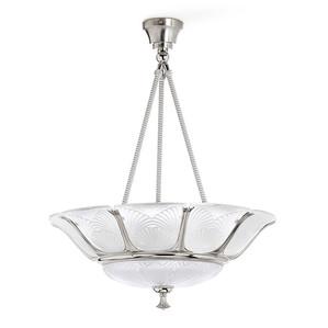 """Подвесная лампа """"Никелевый"""" 83x67см"""