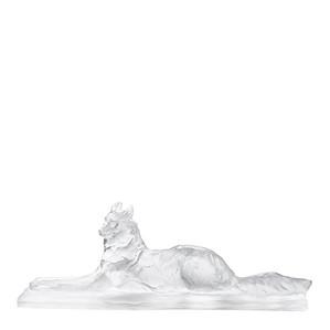 """Статуэтка """"Лежащий египетский волк"""" 70см"""