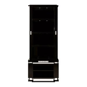 """Шкаф для книг """"Черный лак"""" 93x48x235см"""