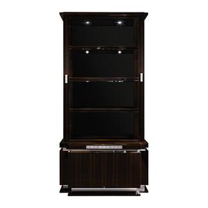 """Шкаф для книг """"Эбеновое дерево"""" 116x48x235см"""