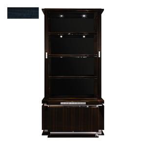 """Шкаф для книг """"Синий эвкалипт"""" 116x48x235см"""