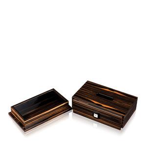 """Коробка для салфеток """"Эбеновое дерево"""" 28,2см"""