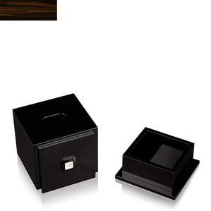 """Коробка для салфеток """"Эбеновое дерево"""" 18см"""