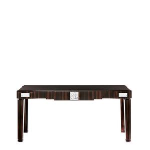 """Консольный стол с черной гранитной столешницей """"Эбеновое дерево"""" 182x50x81см"""