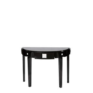 """Консольный стол с черной гранитной столешницей """"Черный лак"""" 118x45x81см"""