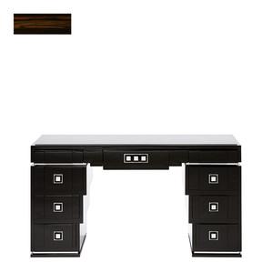 """Письменный стол с ящиками с черной гранитной столешницей """"Эбеновое дерево"""" 150x46x81см"""