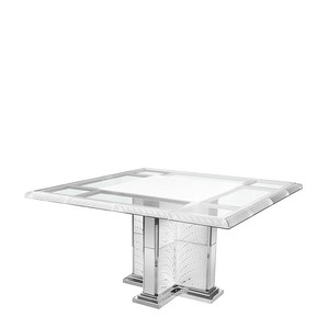 Стол с подсветкой на 4 персоны 75x245x140см