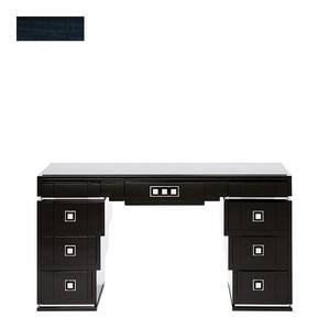 """Письменный стол с ящиками с черной гранитной столешницей """"Синий эвкалипт"""" 150x46x81см"""