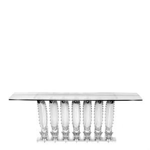 Прямоугольный консольный стол 76x190x78см