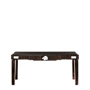 """Письменный стол с черной гранитной столешницей """"Эбеновое дерево"""" 182x50x81см"""