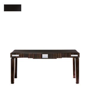 """Консольный стол с черной гранитной столешницей """"Черный лак"""" 182x50x81см"""