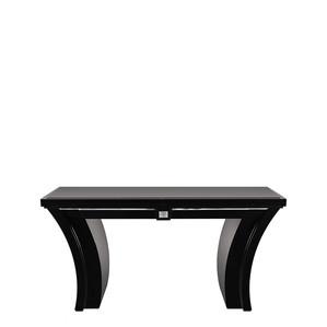 """Консольный / письменный стол с черной гранитной столешницей """"Черный лак"""" 150x50x76см"""
