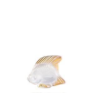 """Статуэтка """"Рыбка - золотое покрытие"""" 4,5см"""