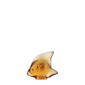"""Статуэтка """"Рыбка - янтарный"""" 4,5см"""