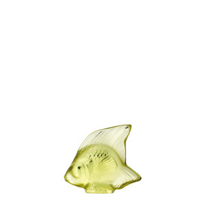 """Статуэтка """"Рыбка - желтый"""" 4,5см"""