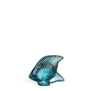 """Статуэтка """"Рыбка - бирюзовый глянцевый"""" 4,5см"""