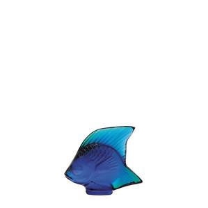 """Статуэтка """"Рыбка - глянцевый синий"""" 4,5см"""