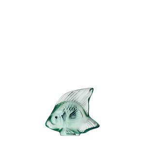 """Статуэтка """"Рыбка - мятно-зеленый"""" 4,5см"""