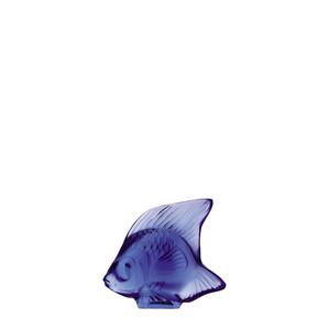 """Статуэтка """"Рыбка - сапфировый синий"""" 4,5см"""