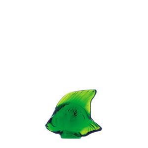 """Статуэтка """"Рыбка - зеленый"""" 4,5см"""