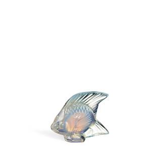"""Статуэтка """"Рыбка - опаловый глянцевый"""" 4,5см"""