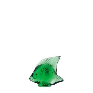 """Статуэтка """"Рыбка - изумрудный"""" 4,5см"""