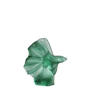 """Статуэтка """"Боевая рыбка - мятно-зеленый"""" 16см"""