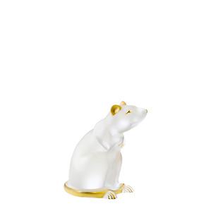 """Статуэтка """"Крыса - золотое покрытие"""" 11,6см"""