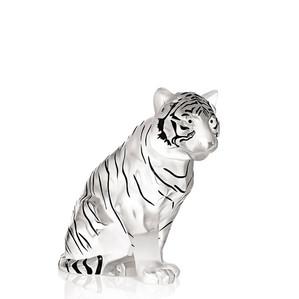 """Статуэтка """"Тигр - черная эмаль"""" 24,1см"""