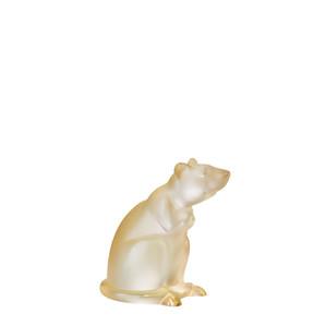 """Статуэтка """"Крыса - золотистый"""" 11,6см"""