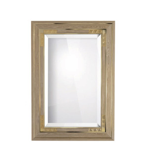 """Зеркало """"Дубовое дерево, золотистый хрусталь"""" 138x96см"""
