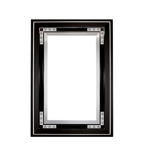 """Зеркало """"Черный лак"""" 138x96см"""