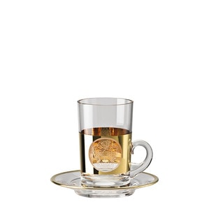 Чашка чайная с блюдцем 0,14л