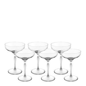 """Бокал-Блюдце """"Шале"""" для шампанского, 6шт. 280мл"""