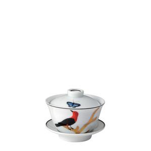 Чаша с блюдцем и с крышкой 100мл